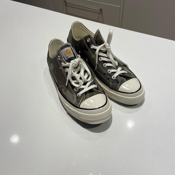 Converse Carhart Low Top Camo Sneakers